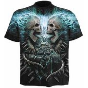 Flaming Spine All-Over T-Shirt