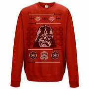 Men's Star Wars Vader Head Red Chri...