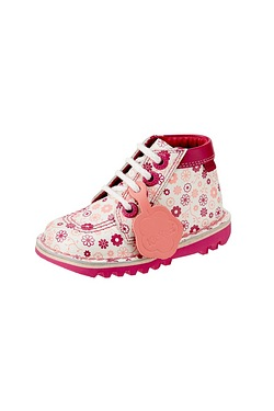 Infant Girls Kick Hi Ditsy Boot