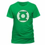 Men's Green Lantern Distressed Logo...