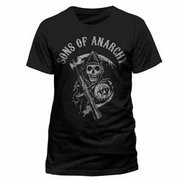 Men's Son's Of Anarchy Logo T-Shirt