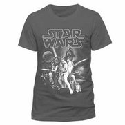Men's Star Wars A New Hope Grey T-S...