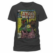 Men's Star Wars Boba Blast Grey T-S...