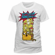 Adventure Time Pancakes White T-Shirt