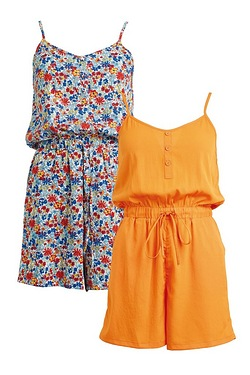Be You Pack Of 2 Playsuits