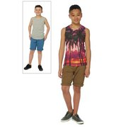 Boys Pack Of 2 Vests