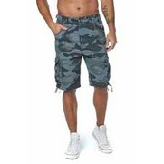 Crosshatch Cargo Short Olive Camo