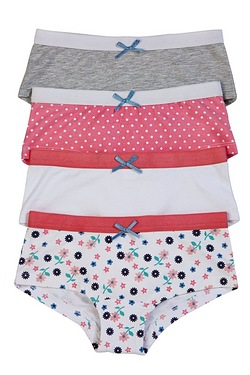 Pack Of 4 Shorts