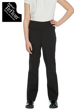 Girls 2 Button Trousers