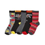 Boys Pack Of 5 Dinosaur Socks
