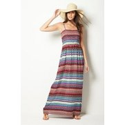 Be You Bandeau Maxi Dress - Aztec
