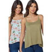 Pack Of 2 Cami Vests