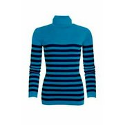Be You Rib Roll Neck Top