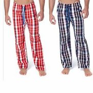 Pack Of 2 Check Lounge Pants