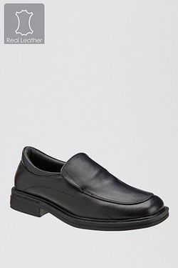 Boys Slip On Leather Shoe
