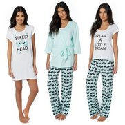 4 Piece Scotty Dog Nightwear Set