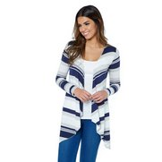 Be You Waterfall Cardigan - Navy St...