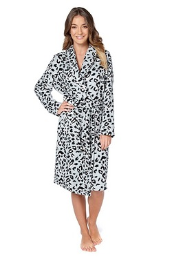 Printed Supersoft Robe