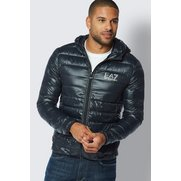 EA7 Zip Through Down Jacket