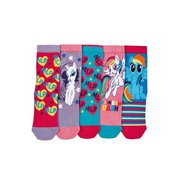 My Little Pony Pack Of 5 Socks