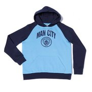 Boys Man City Fleece Hoody