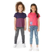Girls Pack Of 2 T-Shirts