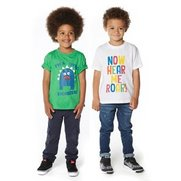 Boys Pack Of 2 Monster T-Shirts