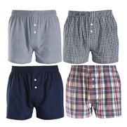 TG Pack Of 4 Woven Boxers