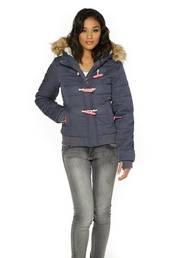 Superdry Marl Toggle Puffle Jacket