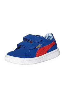 Boys Puma Suede V Shoe - Superman