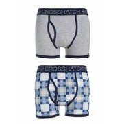 Crosshatch Pack Of 2 Boxers