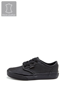 Childrens Vans Atwood Leather Trainer