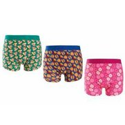 Mens Twisted Gorilla Pack Of 3 Trunks