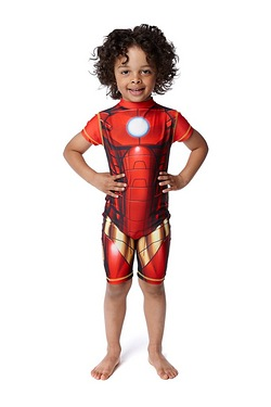 Boys UV Suit - Ironman