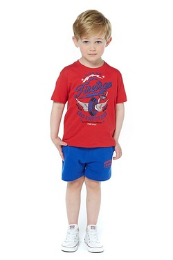 Boys Firetrap Shorts - Dazzling Blue