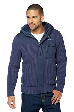 Crosshatch Jamine Zip Through Lined...