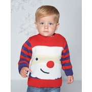 Baby Boys Father Christmas Jumper