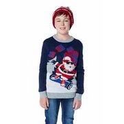 Boys Segway Christmas Jumper