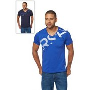 Crosshatch Pack Of 2 V-Neck T-Shirts