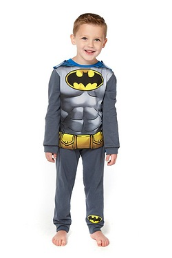 Boys Batman Dress-Up Pyjamas