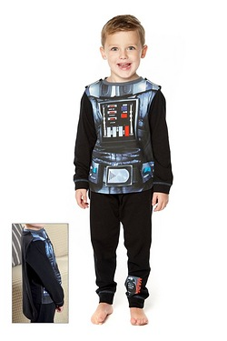 Boys Dress Up Pyjamas - Darth Vader