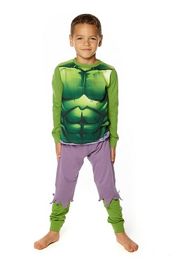 Boys Incredible Hulk Dress Up Pyjamas