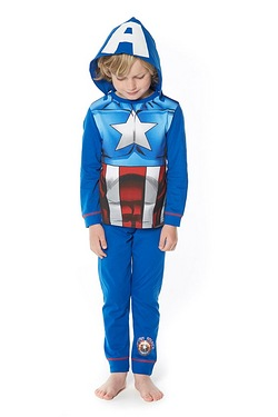 Boys Captain America Dress Up Set
