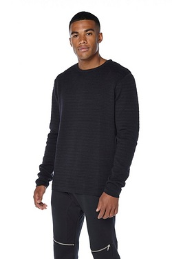 Twisted Gorilla Textured Stripe Jumper
