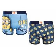 Despicable Me Pack Of 2 Boxers