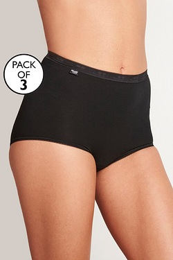 Pack Of 3 Sloggi Maxi Briefs