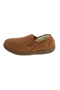 Elasticated Moccasin Slipper