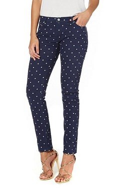 Be You Aimee Skinny Jean - Navy Sta...