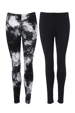 Be You Pack Of 2 Jersey Leggings