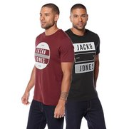 Jack & Jones Pack Of 2 Travor T-Shirts